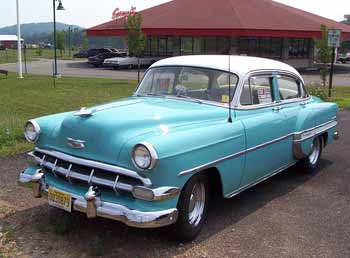 Cars/Vans/Bikes etc. Past and Present. 1953-Chevrolet